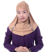 Islamic Middle East Arab Muslim scarf Muslim hijab headscarf easy stitching costumes