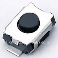 black center tactile SMD switch/3*4*2 SMT tact switch wholesale SMT tact switch LY-A03-05