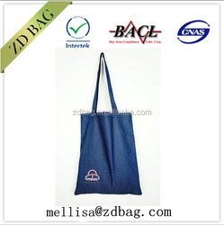 lady women denim shoulder handbag,fashion durable tote bag ,new design style mk bag