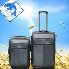 Universal wheel trolley luggage , nylon bag .