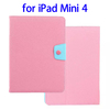 OEM Service Candy Color Leather for iPad Mini 4 Leather Cover
