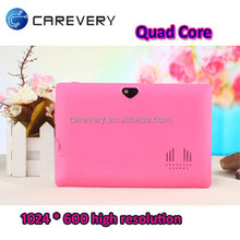 7 inch android 4.4 quad core wifi 3d tablet pc with high definition/ slim 7 inch smart tablet pc android
