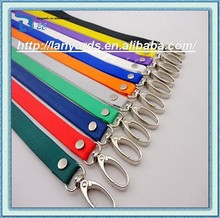 Satin Lanyards feel silky smooth against the neck for added comfort