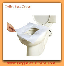 Disposable Nonwoven PP Toilet Seat Covers for Travelling / Airplane