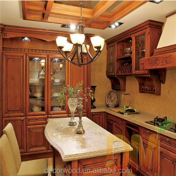 Royal Kitchen Old Fashion Wooden American Kitchen Cabinets - Buy ...