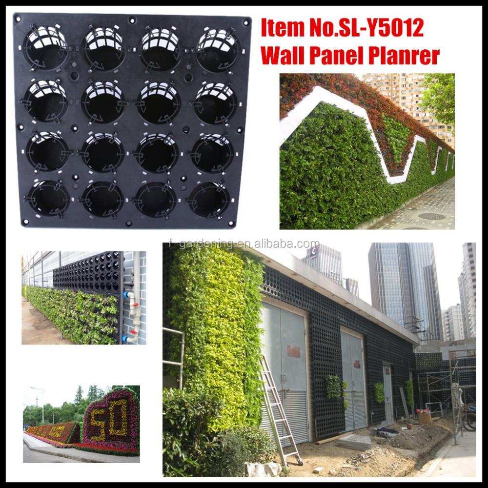 Giardino verticale parete verde pannello sl y5012 fioriera for Vertical garden panels