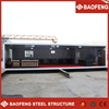 Well designed safe fast steel construction newly glass container house