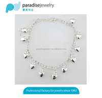 heart fashion anklets crystal foot jewelry anklets