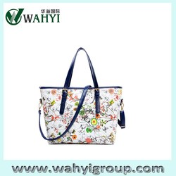 2015 Custom Leather Ladies Tote Shopping Bag,China Manufacture Custom Bag Tote,Leather Shopping Tote Bag