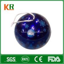 Manufacture Printing Gift Metal Candy Christmas Ball