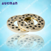 bronze bearing thrust washer, brass graphite thrust washer, copper bush oilless slide washer