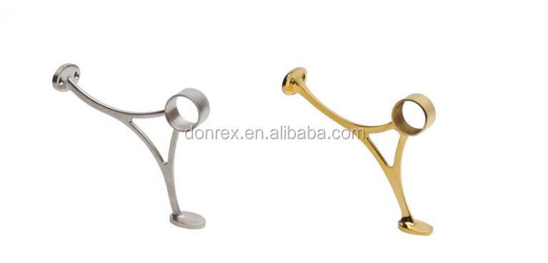 source casting brass foot railing bracket on m