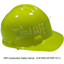 FRP Construction Safety Helmet ( SUP-PPE-HP-FRP-101-3 )