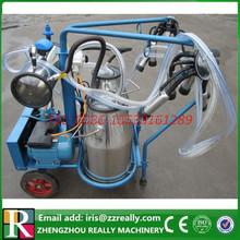 Tipo clásico doble máquina de ordeño / doble de aluminio cubos / silicona liners ( vaca )