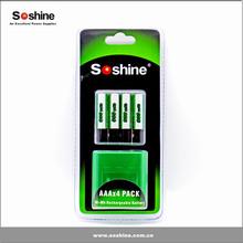 Ni-MH Rechargeable AAA/Micro 900mAh 4pks AAA battery rechargeable battery NI-MH battery