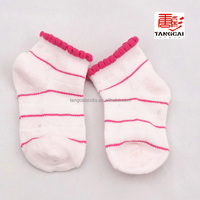 China bulk wholesale socks for baby girl with picot welt TCB-029