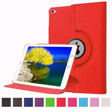 2015 New model for ipad pro leather stand case,360 rotation tablet case cover for ipad pro