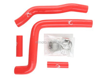 Red Motorcycle Silicone Radiator Hose For Kawasaki KX250 KX 250 2005-2007 06