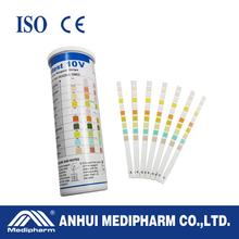 10 Parameters Disposable 10 Parameters Urine Ph Test Strips