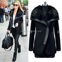 Best quality Crazy Selling 2015 fashion women coat long