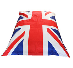 foldable bean bag bed cover