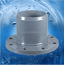 functional pvc pipe fitting /pvc spigot flange