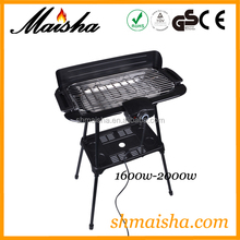 MS home and garden professional electric grill BBQ-02A