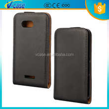 Cheaper price leather flip case for sony xperia sp m35h m35c c5303