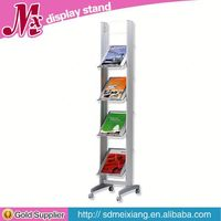 cheap Metal display cases, MX9306 supermarket vegetable and fruit display shelf