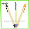 ECO recycled paper pen with Logo