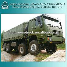 HOWO 8x8 All-wheel drive vehicle series truck