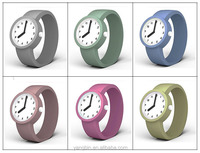 New arrival fancy colorful japan pc21 movement watch for children