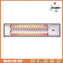 electric heater QH-80E with 2 quartz heating element with CE certificate