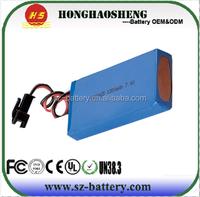 Lithium Polymer Battery Pack 7.4V 1300mAh for Power Hand Tool