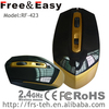 2014 3d fancy wireless mouse rf2.4g with 10M operating distance