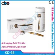 Professional Skin Rejuvenation 192 Titanium Needles Derma Roller System