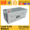 High cost performance battery charger 12v 200ah lead acid batteries