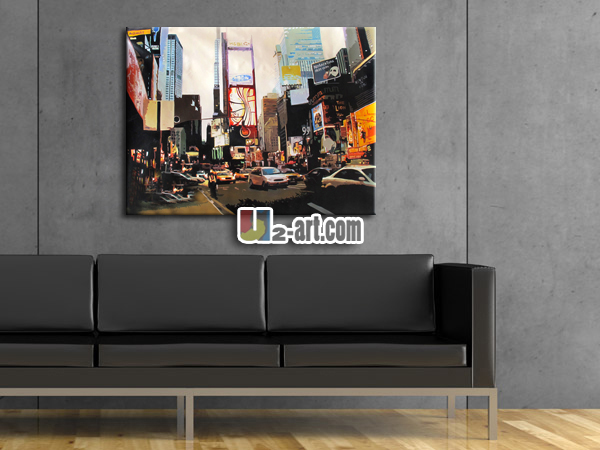 New York Poster Pop Art Paintings For Living Room Wall Decoration ...
