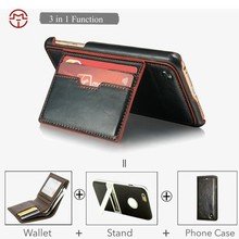 For iPhone 6 Plus Case with Stand 3 in 1 Function Design