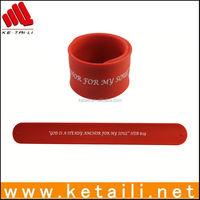 Amazing Silicone Slap Bracelet & Wristband with Negative Ion