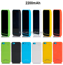 4200mAh for iPhone 5 5s Backup Power Bank Battery Charging Case with Stand/USB