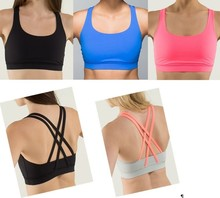 fashion very breathable material sports bra for running