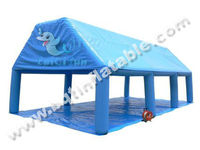 Good quality inflatable tennis tent inflatable garage tent for sell