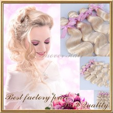 hot new products for 2015 white blonde curly hair extensions