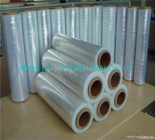 PE food packing film/LDPE/HDPE CLING FILM hdpe t-shirt bags on roll