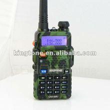Baratos baofeng uv-5r 136-174/400-480 mhz de doble- banda dtmf ctcss y dcs jamón fm radio de dos vías