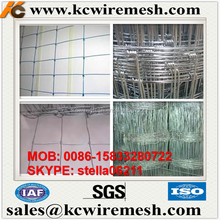 Factory!!!!! Kangchen high tensile hinge joint galvanised farm fencing/ High tensile farm fencing wire/farm field fence