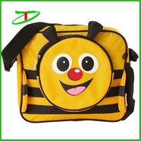 2015 Quality products fashion kids sling bag, trendy satchel for school
