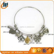 Wholesale Jewelry Popular America Alex And Ani Bangles,Expandable Stainless Steel Wire Bracelet