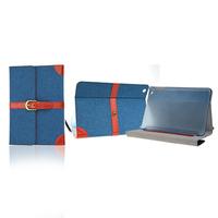 2014 jean+pu velcro case for ipad mini ,for ipad mini handbags
